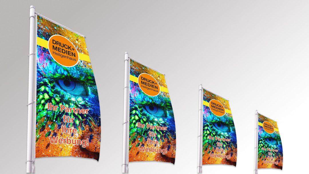 Fahnen und Flaggen von Druck+Medien Heiligenhaus