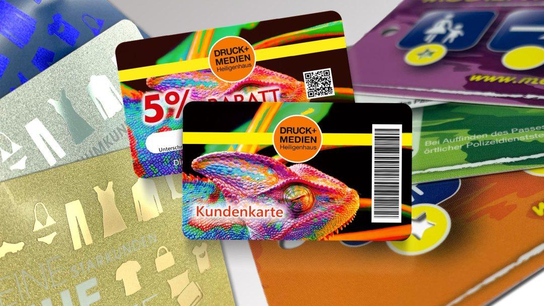 Kundenkarten von Druck+Medien Heiligenhaus