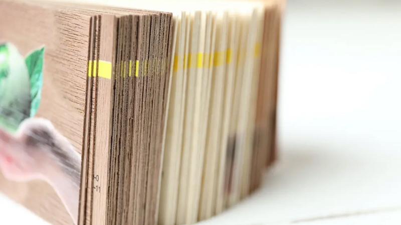 Visitenkarten aus Holz von Druck+Medien Heiligenhaus