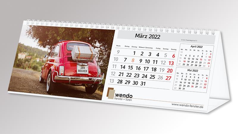 Bildkalender MagicPix Table Quer von Druck+Medien Heiligenhaus