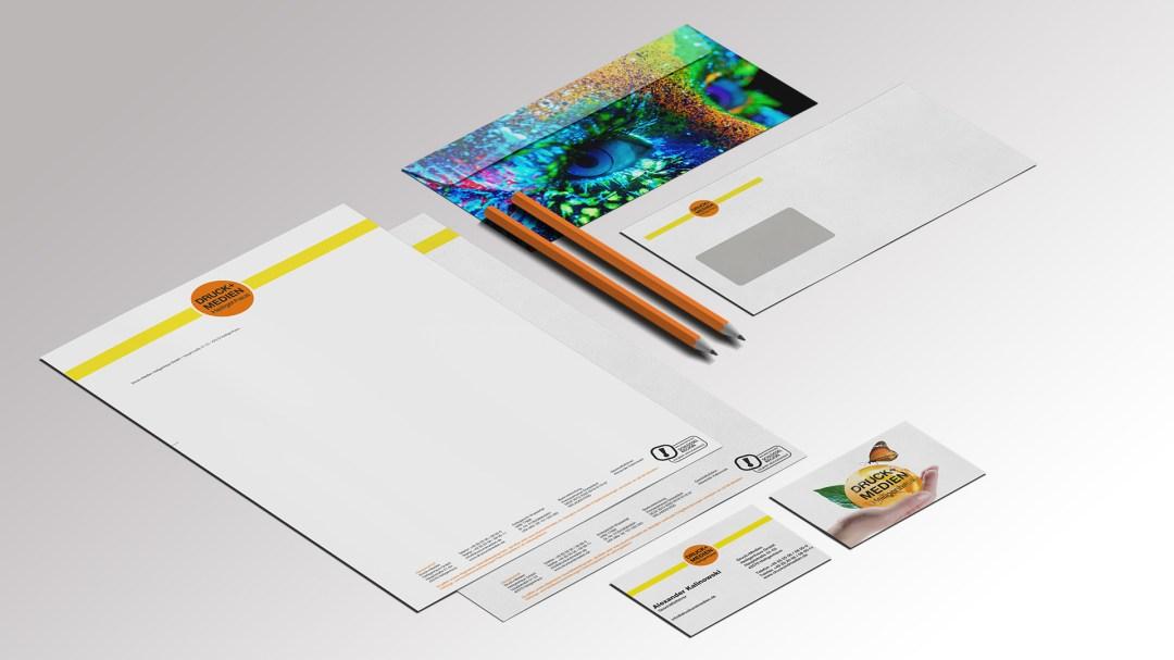 Briefpapier von Druck+Medien Heiligenhaus