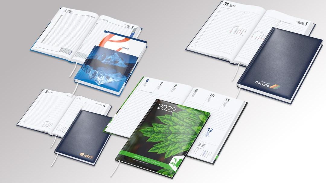 Buchkalender von Druck+Medien Heiligenhaus