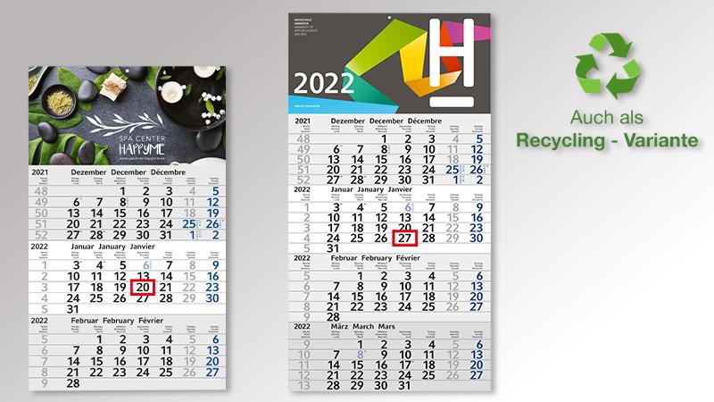 Budget Monatskalender von Druck+Medien Heiligenhaus