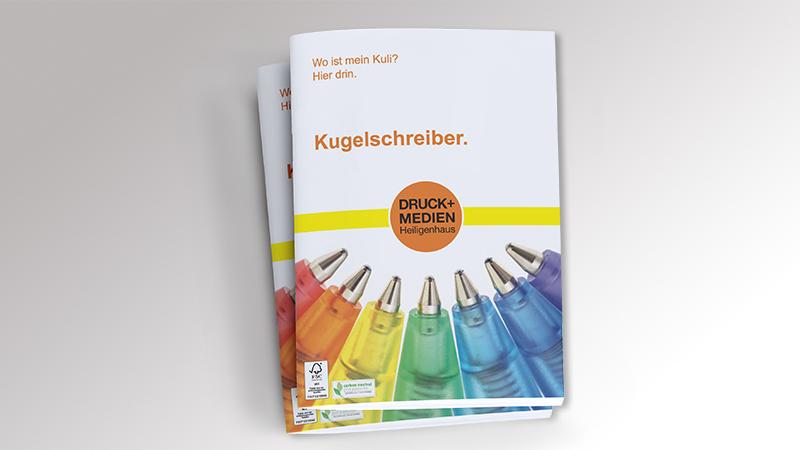 Werbemittelkatalog nachhaltige Werbeartikel 2021 von Druck+Medien Heiligenhaus
