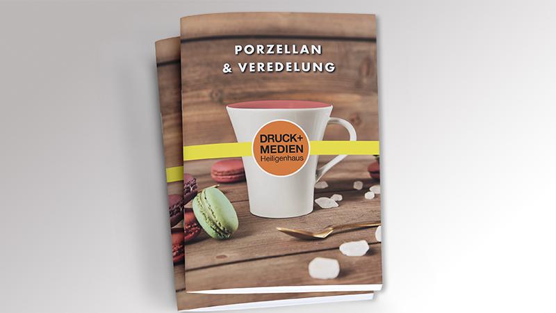 Werbemittelkatalog Porzellan 2021 von Druck+Medien Heiligenhaus