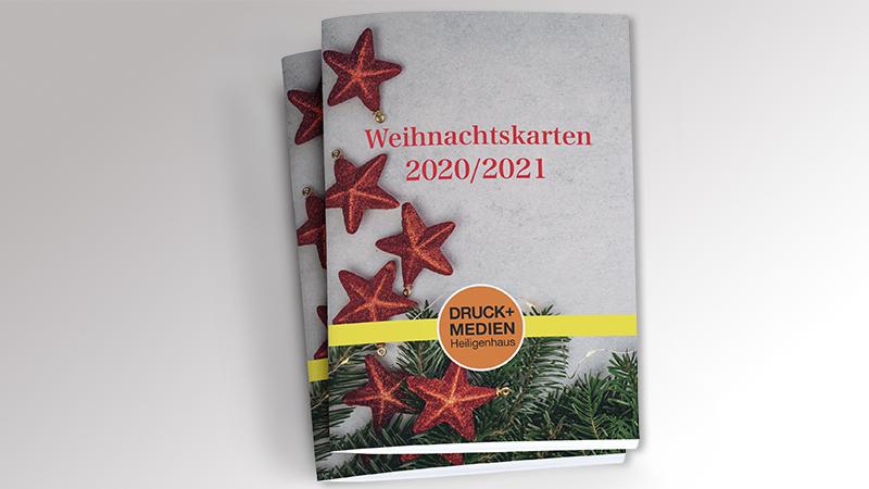 Werbemittelkatalog Weihnachtskarten 2021 von Druck+Medien Heiligenhaus