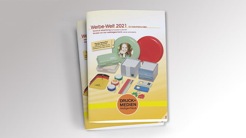 Werbemittelkatalog Bestseller 2021 von Druck+Medien Heiligenhaus
