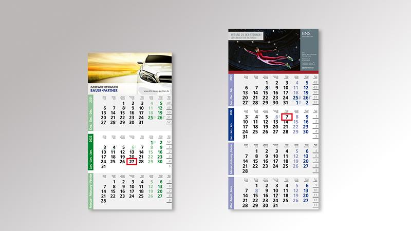 Logic Monatskalender von Druck+Medien Heiligenhaus