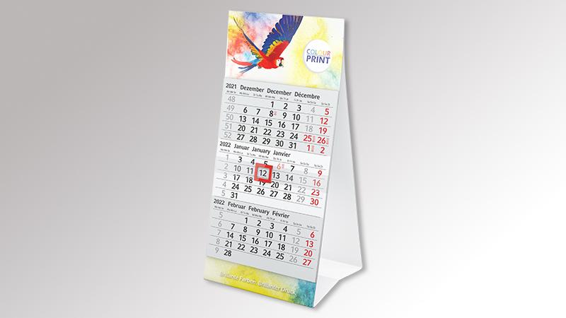 Mini3 Tischaufstellkalender von Druck+Medien Heiligenhaus