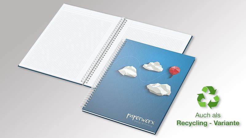 Notizbuch BizzBook von Druck+Medien Heiligenhaus