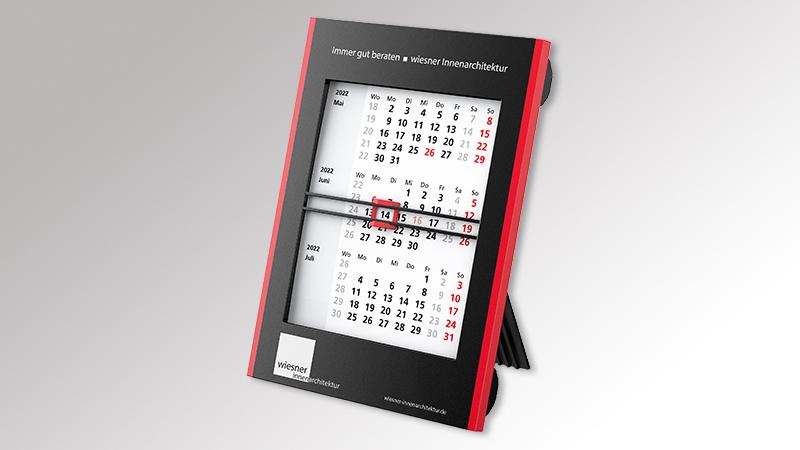 RollUp Tischaufstellkalender von Druck+Medien Heiligenhaus