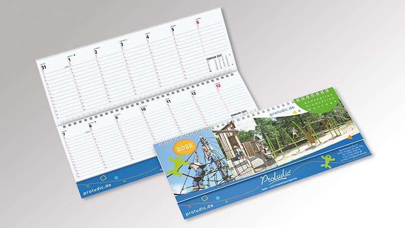 Signal Tischquerkalender von Druck+Medien Heiligenhaus