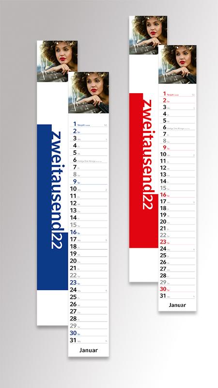 Streifenkalender Combi von Druck+Medien Heiligenhaus