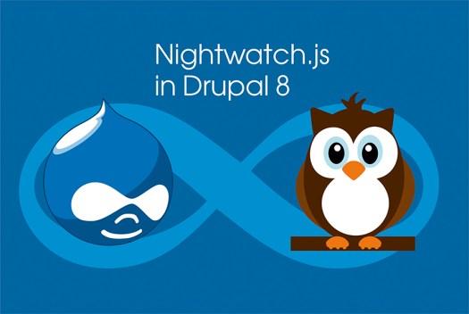 Nightwatch.js in Drupal 8