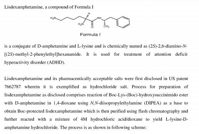 Lisdexamfetamine | New Drug Approvals
