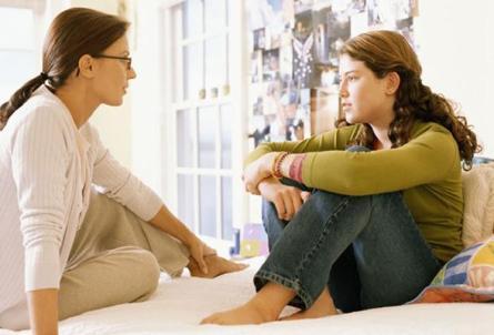 「conversation between teenagers and parents」的圖片搜尋結果