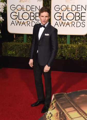 Eddie Redmayne in Gucci /Jason Merritt getty Images
