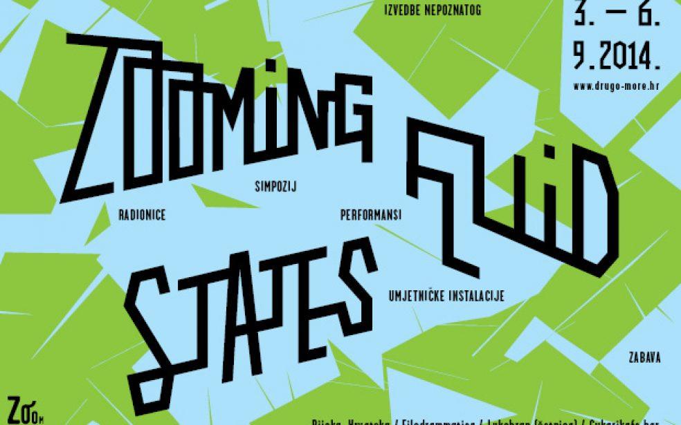 Zooming Fluid States: Izvedbe nepoznatog