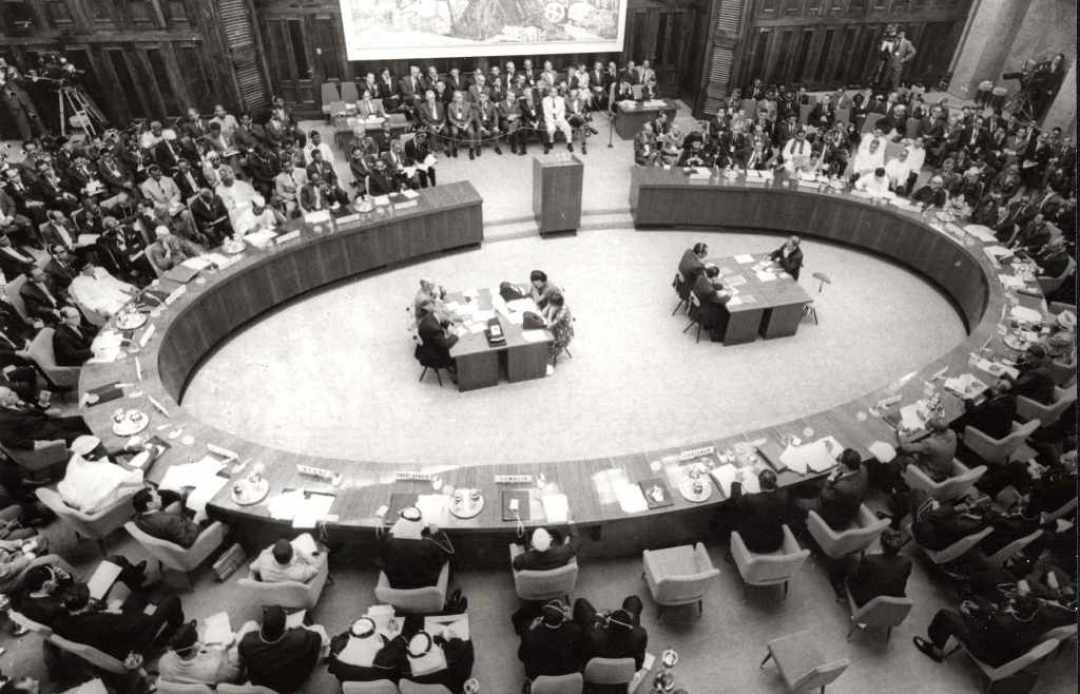 The Non-Aligned Movement - Pokret Nesvrstanih - Konferencija Pokreta nesvrstanih u Beogradu 1961. godine. Izvor: Wikimedia Commons, the free media repository. Licensed under the Creative Commons Attribution-Share Alike 3.0 Serbia license