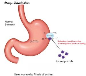 Esomeprazole | Drugs Details