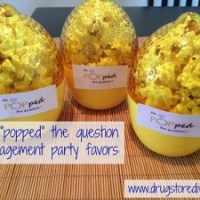 "DIY: He ""Popped"" The Question Engagement Party Favors (Featuring Good Cook Lemon Keepers)"