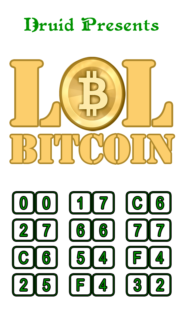 LOL Bitcoin Challenge Clue