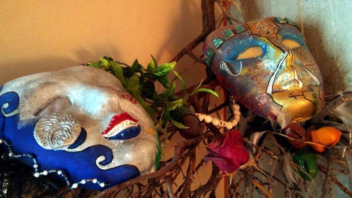 Samhain Ancestor Masks