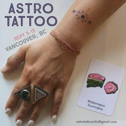 Astro Tattoo Vancouver BC