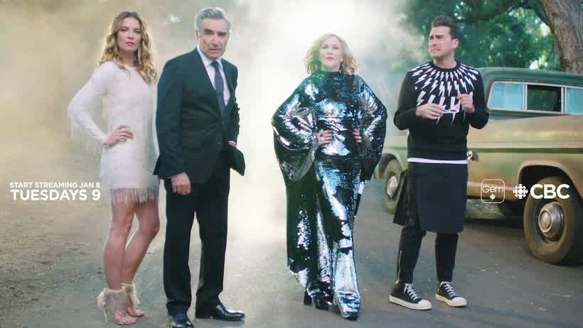 The astrology of Schitt's Creek Saturn Pluto conjunctions passed down the Levy family line by Dru Ish