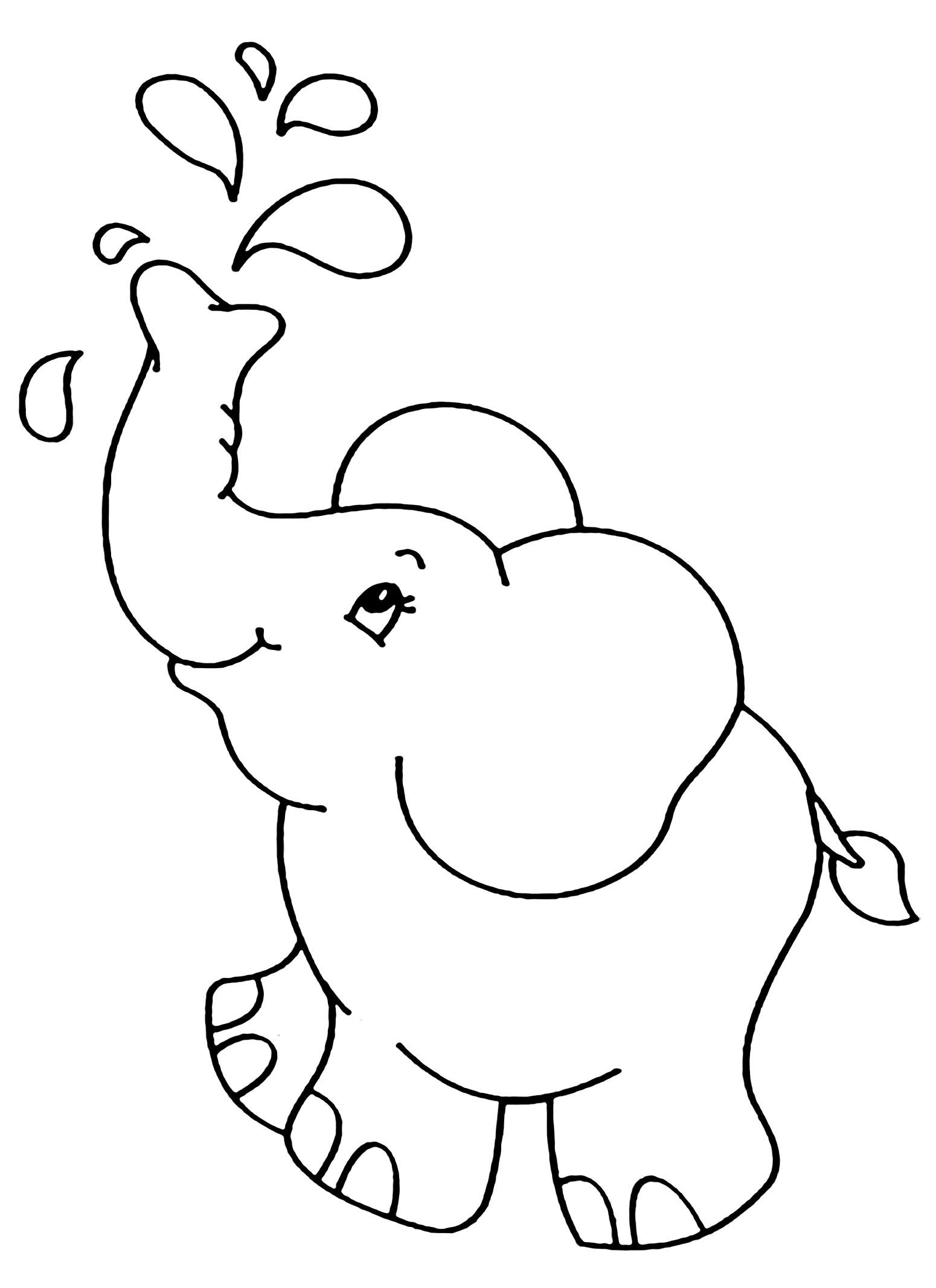 Kolorowanka Ma Y S Onik Podobny Do Dumbo Do Druku