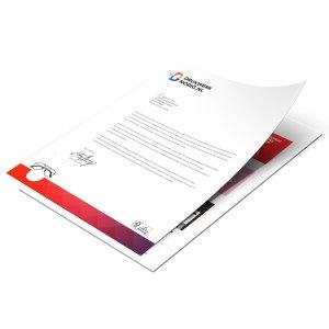 Goedkoopst 500 Briefpapier A4 drukken Drukken