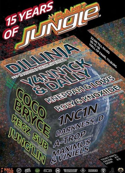 15 years of Planet Jungle