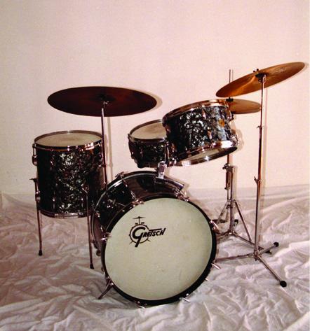 A Quick Glimpse Of Elvin Jones Gear Drum Magazine