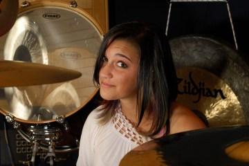 Drummer Hannah Ford Welton