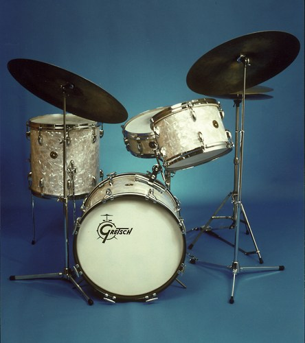 gretsch progressive jazz kits origin of cool drum magazine. Black Bedroom Furniture Sets. Home Design Ideas