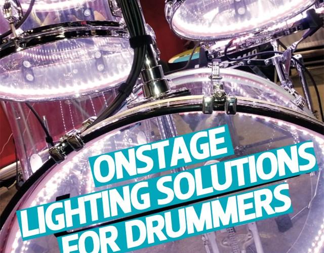Light Emitting Drummer – Onstage Lighting For Your Drum Set