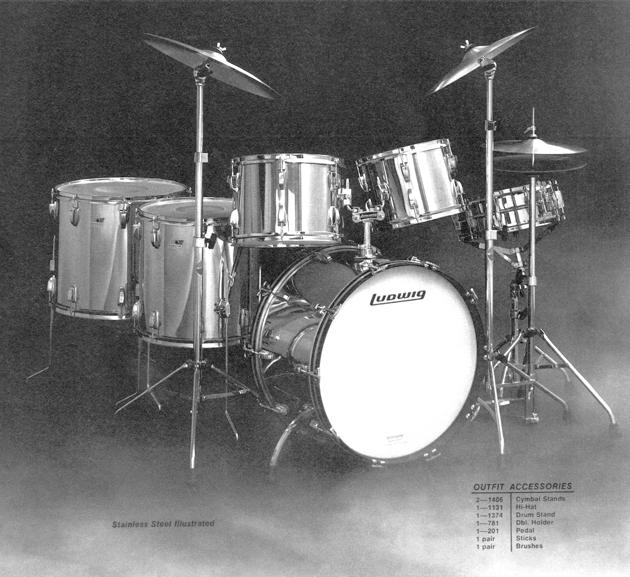 Vintage Stainless Steel Drum Kits A Brief History Drum Magazine