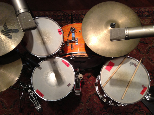 Custom Made T Shirt Badass Drummer Musician Awesome Trap Set Drums Cymbals