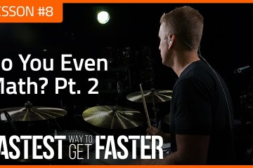 The Fastest Way to Get Faster Drum Lesson DAY 8 math 2 Featured Image