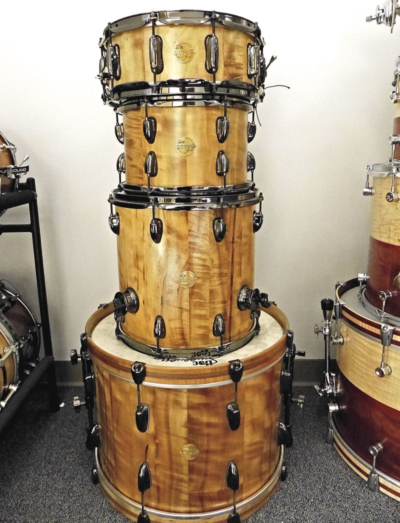 Doc Sweeney's Figured Myrtle stave kit #1