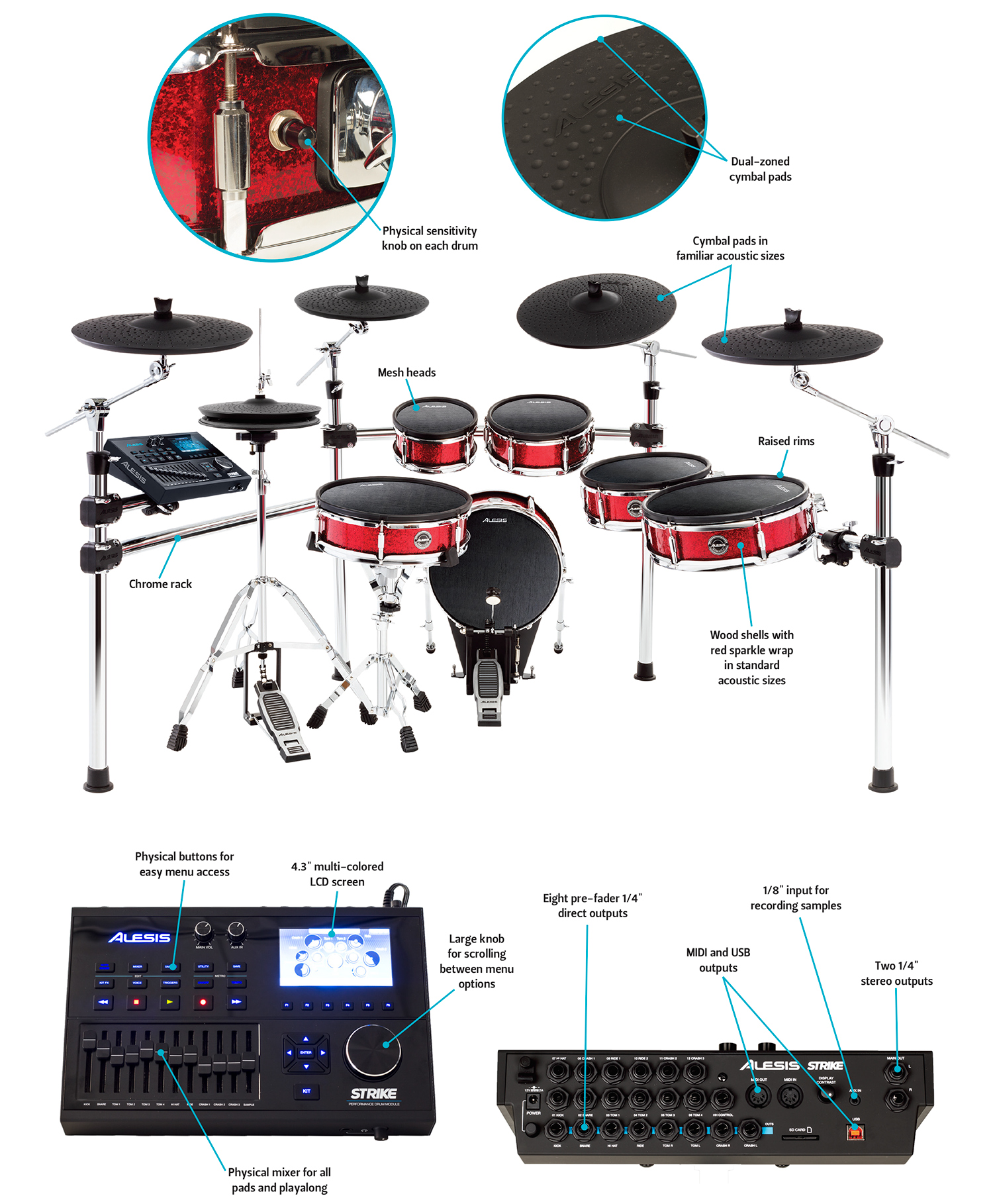 Dialed In Review Alesis Strike Pro Drum Magazine