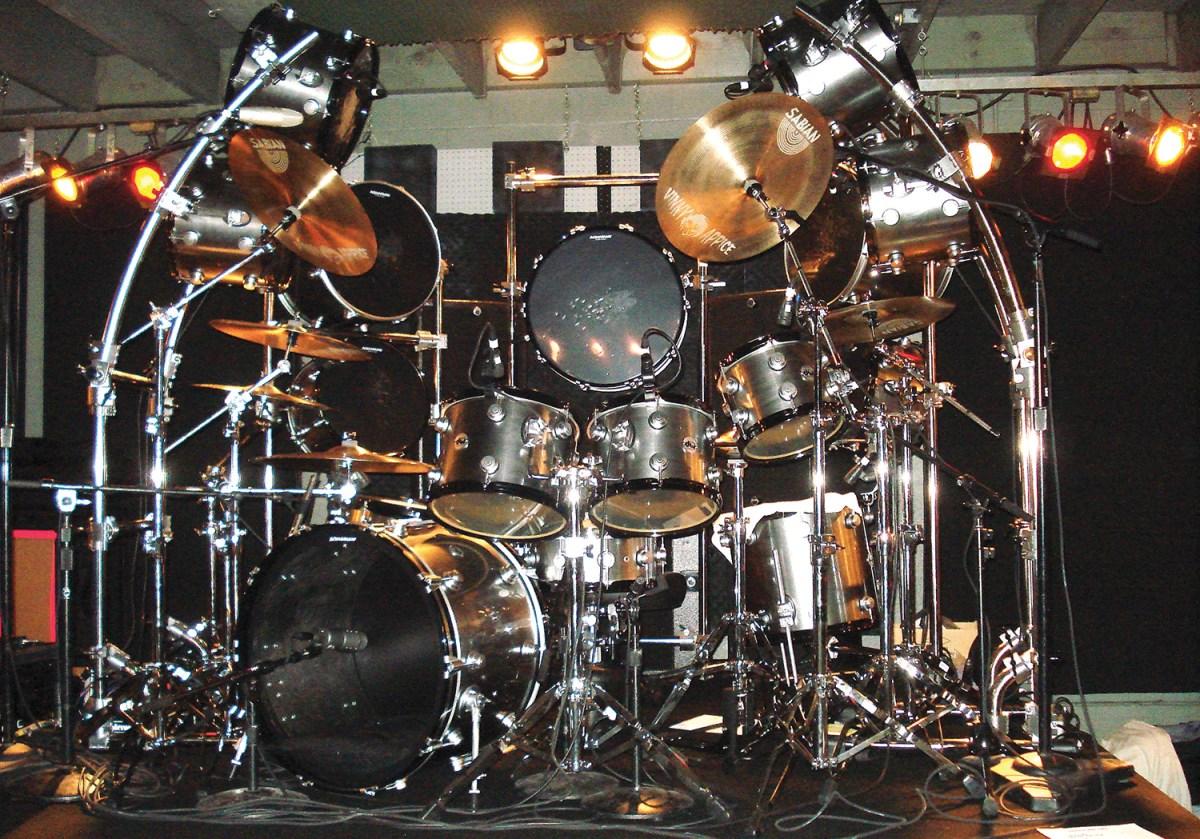 Vine Appice's Drum Kit