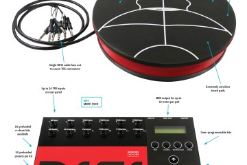 Alternate Mode JamKAT And DITI electronic hand percussion controller and module