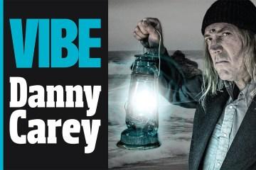 Danny Carey of The Seagullmen