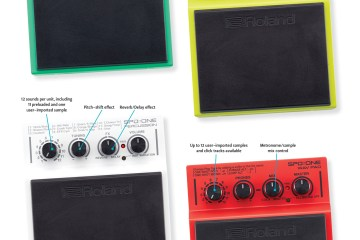 Roland SPD::ONE electronic drum pads