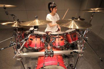 Kanade Sato drums