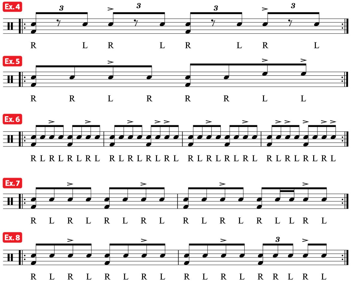 Practice Pad Groove Train ex4-8