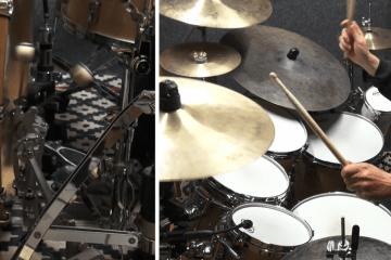 glen sobel double bass drum lesson video