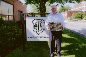 John Shand joined SJC Custom Drums as general manager