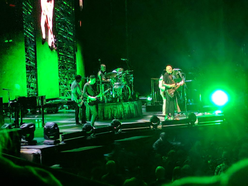 Smashing Pumpkins at Oracle Arena, Aug. 27, 2018